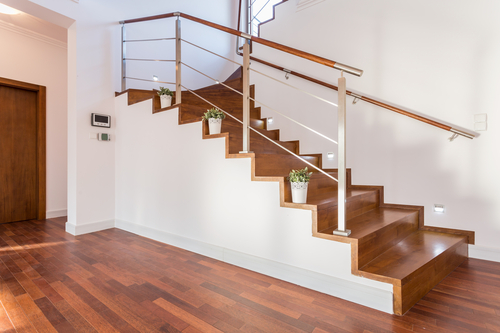 Hamilton Hardwood Stairs project
